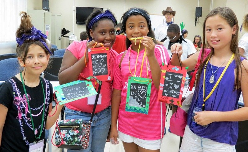 Vacation Bible School fun with a faith and science focus