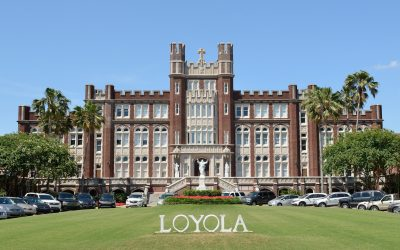Teilhard de Chardin lecture at Loyola University New Orleans centering on mysticism and evolution